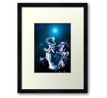 Dark Angel in the Forest 2 Framed Print