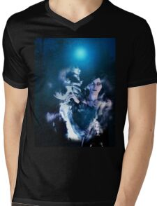 Dark Angel in the Forest 2 Mens V-Neck T-Shirt