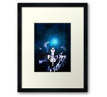 Dark Angel in the Forest 3 Framed Print