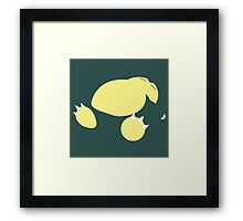 Snorlax Framed Print