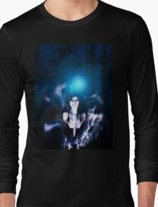 Dark Angel in the Forest 3 Long Sleeve T-Shirt