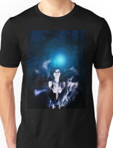Dark Angel in the Forest 3 Unisex T-Shirt