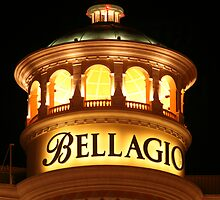 Bellagio at Night by mrehere