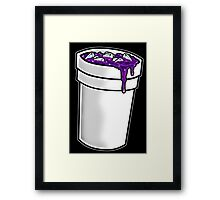 Purple Drink Framed Print