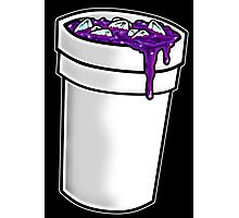 Purple Drink Photographic Print