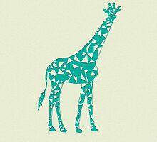 Geometric Giraffe by mburman1