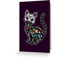Dia de los Gatos Greeting Card