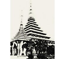Stupa in Khon Kaen, Thailand Photographic Print