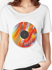 Vintage Turntable Women's Relaxed Fit T-Shirt