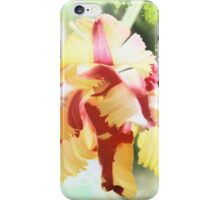 Water colour Parrot tulip iPhone Case/Skin