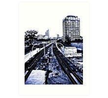 Eastern suburbs railway Art Print