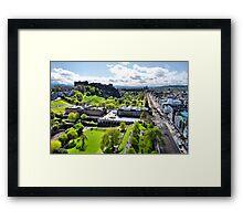 Bonnie Edinburgh Framed Print