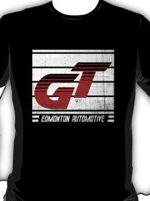 Edmonton Auto - Red & White T-Shirt