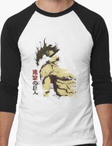 Attack on Titan - Bauklötze Men's Baseball ¾ T-Shirt