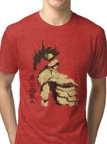 Attack on Titan - Bauklötze Tri-blend T-Shirt
