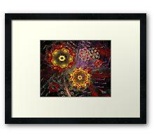 'Strange Bouquet' Framed Print