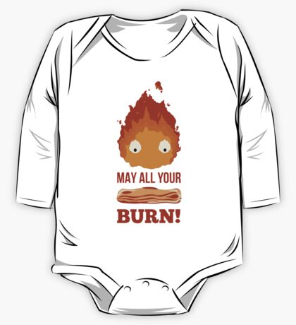 May all your BACON BURN!! One Piece - Long Sleeve