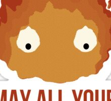 May all your BACON BURN!! Sticker