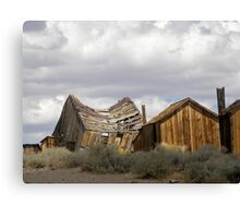 """Goodbye God! We are going to Bodie.""  Canvas Print"