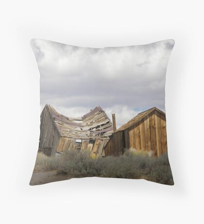 """Goodbye God! We are going to Bodie.""  Throw Pillow"