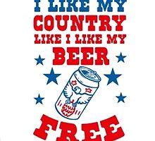Free Beer by TrendingShirts