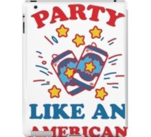 USA Party iPad Case/Skin