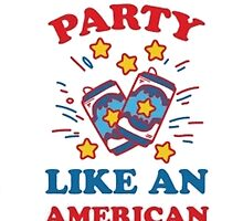 USA Party by TrendingShirts