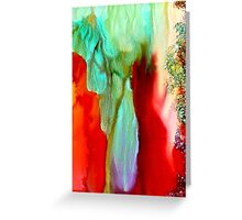 Flowing Freely Greeting Card