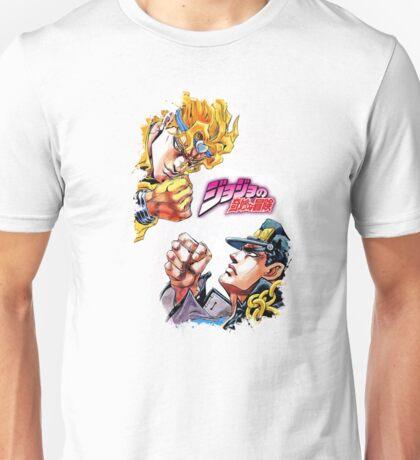 Jotaro Kujo Vs. Dio Brando - JoJo's Bizarre Adventure Unisex T-Shirt