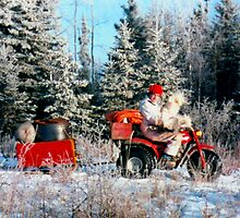 Wheelin' Into The Bush, SANTA?? by MaeBelle