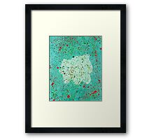 Who's That Pokemon? Bulbasaur!  Framed Print