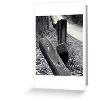 lovers lane Greeting Card