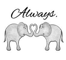 Always Elephants by alwayscaskett