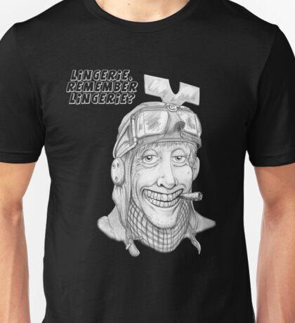 Gyro-Captain-Lingerie1 Unisex T-Shirt