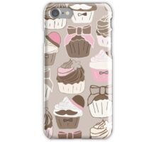 Neapolitan Cupcakes  iPhone Case/Skin