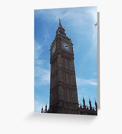 Big Ben strikes 13:10 Greeting Card