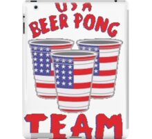 USA Beer Pong iPad Case/Skin