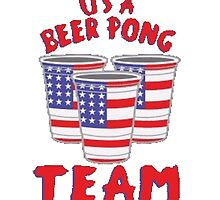USA Beer Pong by TrendingShirts