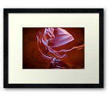 Antelope Canyon 9 Framed Print