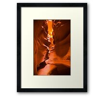 Antelope Canyon 10 Framed Print