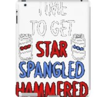 Star Spangled Hammered iPad Case/Skin