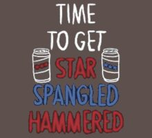 Star Spangled Hammered by TrendingShirts