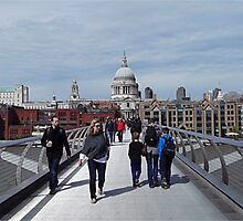 I'm sure St Paul's is around here somewhere kids by Funkylikeabee