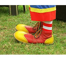 Clown Kicks Photographic Print