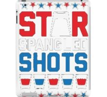Star Spangled Shots iPad Case/Skin