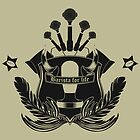 Barista Crest (light tees and hoodies) by Barista