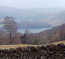 Who put that wall in the way? Grasmere, Lake District by Funkylikeabee