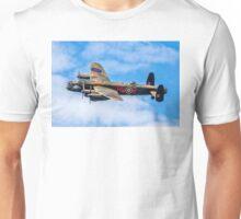 """Avro Lancaster B.1 PA474 HW-R """"Phantom of the Ruhr"""" Unisex T-Shirt"""