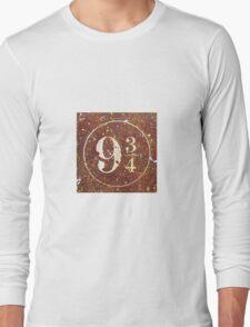Harry Potter Platform 9 3/4 Long Sleeve T-Shirt