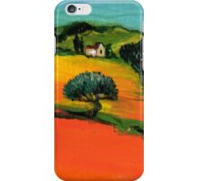 TUSCANY LANDSCAPE  WITH SUNFLOWERS iPhone Case/Skin
